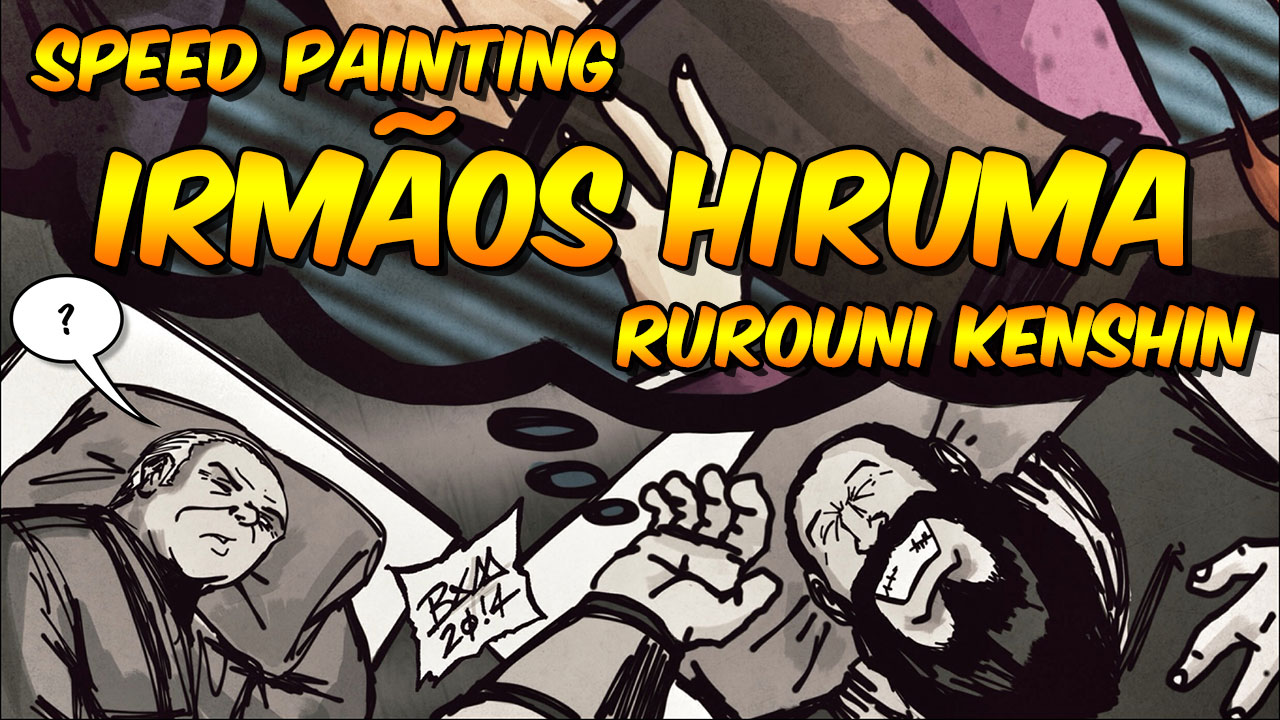 Speed Painting – Irmãos Hiruma