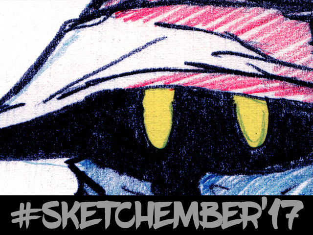 #sketchember'17 – #21 Vivi – Final Fantasy IX
